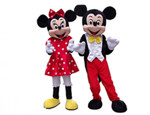 Mascotte Mickey & Minnie